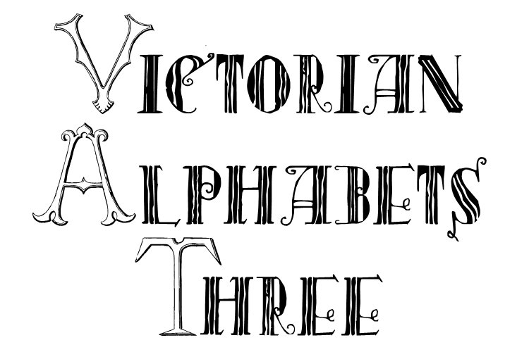 Victorian Alphabets Three example image 1