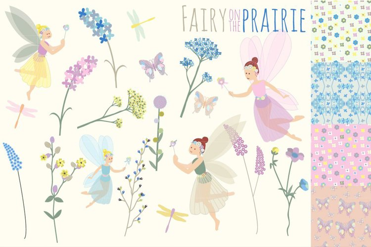 Fairy Clipart   Fairy Patterns   Fairy on the Prairie