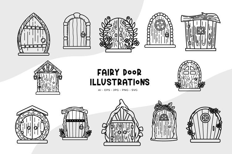 Fairy Door Illustrations