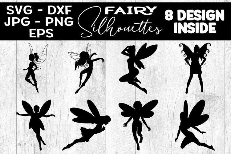 Fairy Silhouettes Bundle Fairies SVG Fairies Silhouettes