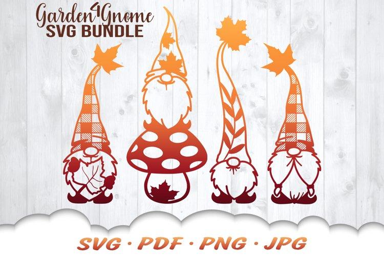 Fall Garden Gnomes SVG Bundle example image 1