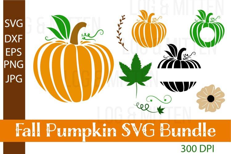 Fall Pumpkin SVG Bundle - Fall SVGs - Fall SVG Cut File example image 1