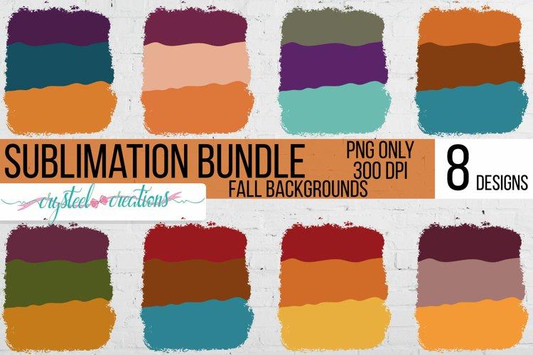 Sublimation Fall Background Bundle example image 1