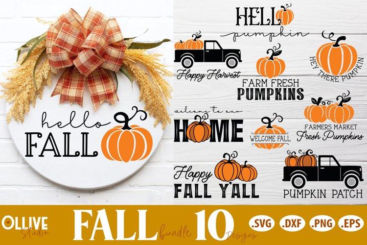 Fall Sign Making SVG Bundle   Fall SVG example image 1