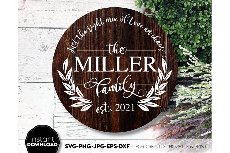 Wreath SVG , Floral svg, Circle SVG, Monogram Frame svg
