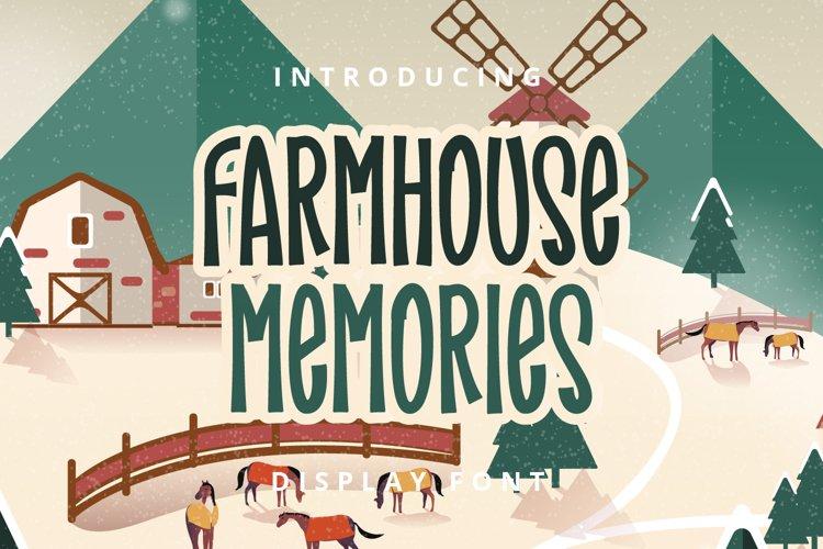 Farmhouse Memories example image 1