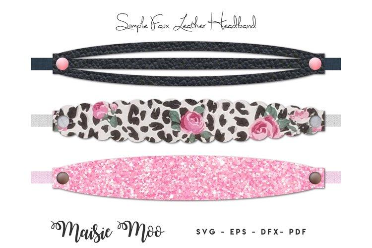 Headband SVG, Scalloped Headband Template, Grecian Headband