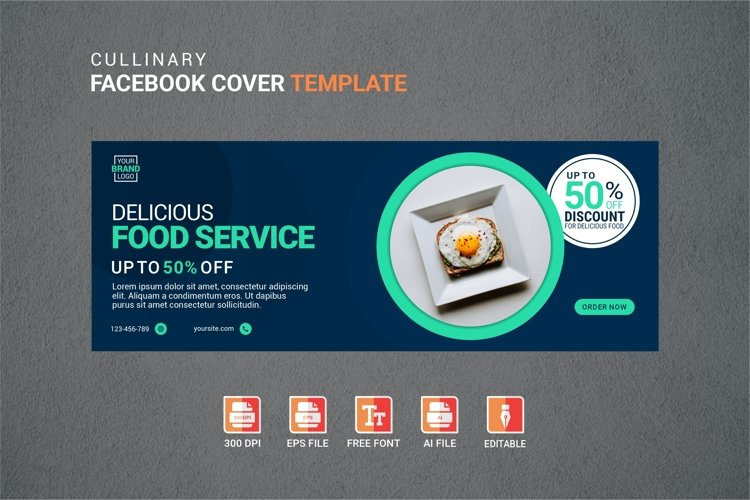 Facebook Cover Vol.21 example image 1