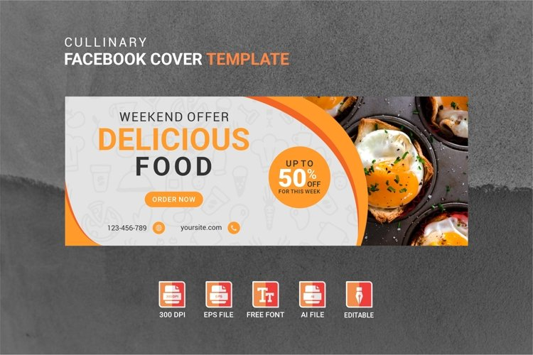 Facebook Cover Vol.39 example image 1