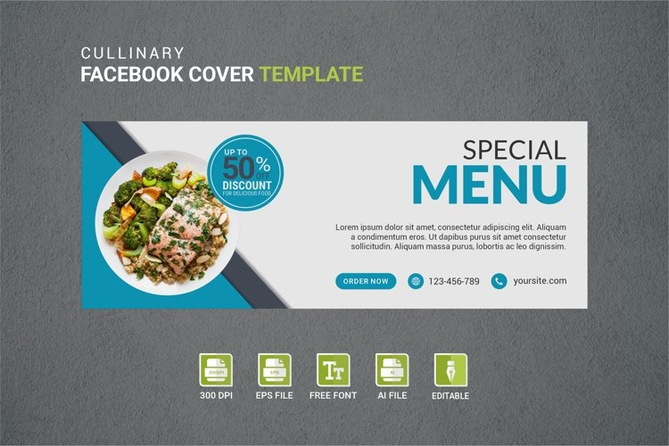 Facebook Cover Vol.8 example image 1