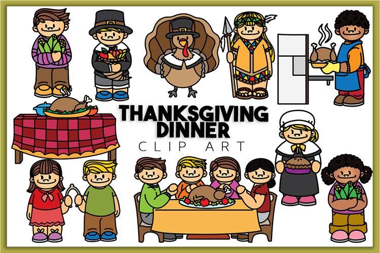 Thanksgiving Dinner Clip art
