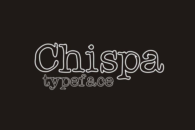 Chispa Font example image 1