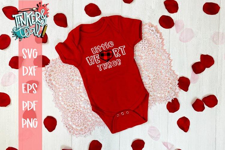 Little Heart Throb Valentine SVG example image 1