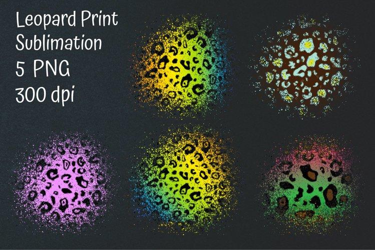 Leopard Print Sublimation. Leopard Patches Sublimation