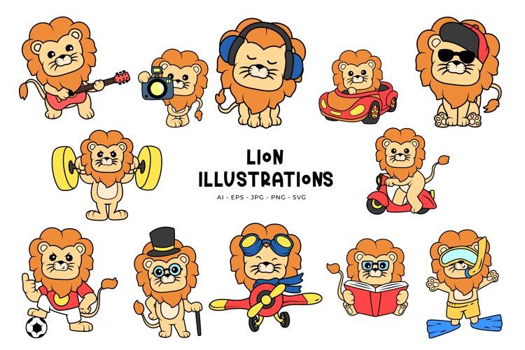 Lion Illustrations