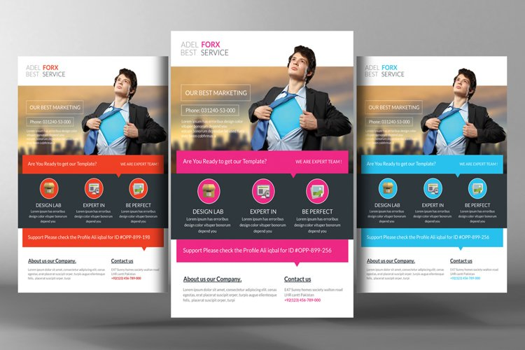 Marketing Flyer Template example image 1