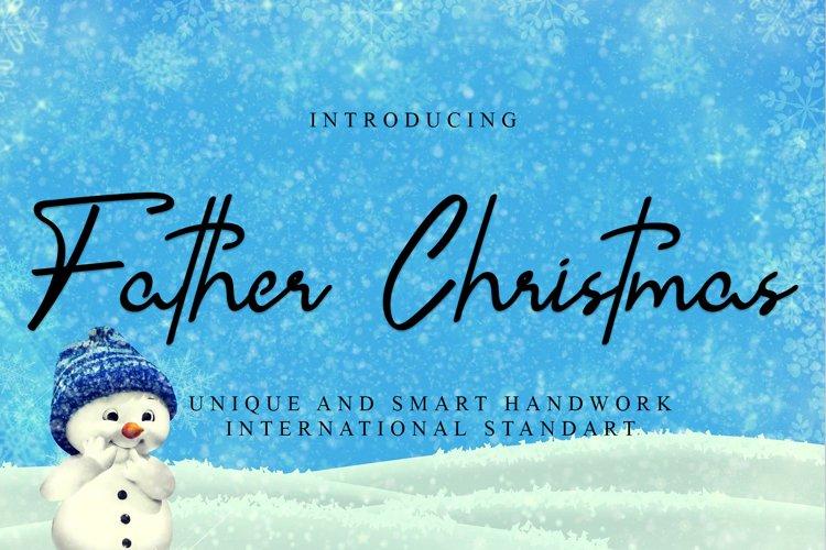 Father Christmas example image 1
