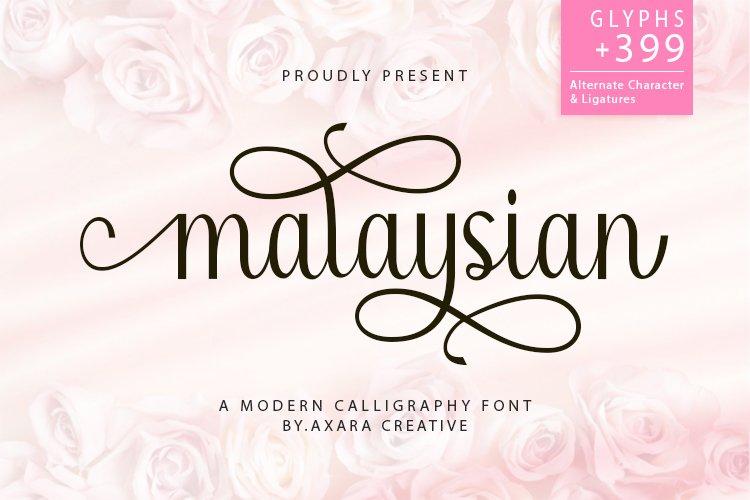 Malaysian example image 1
