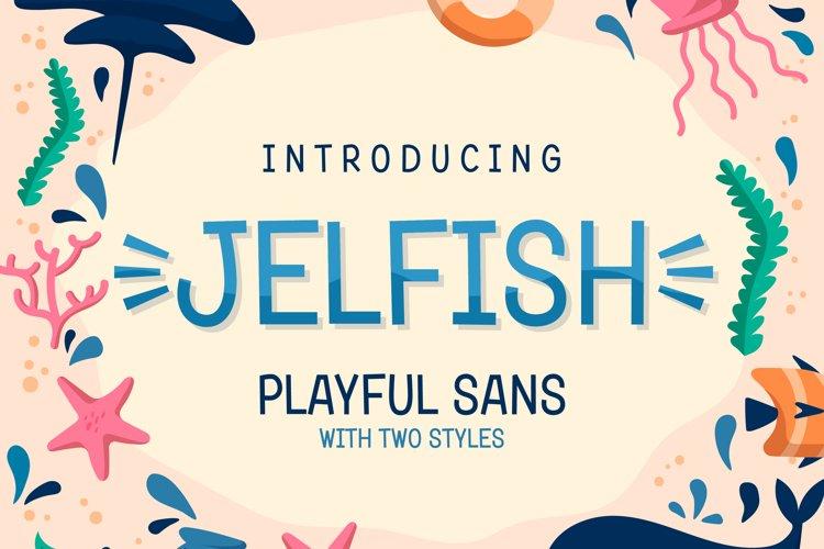 Jelfish - Playful Sans example image 1