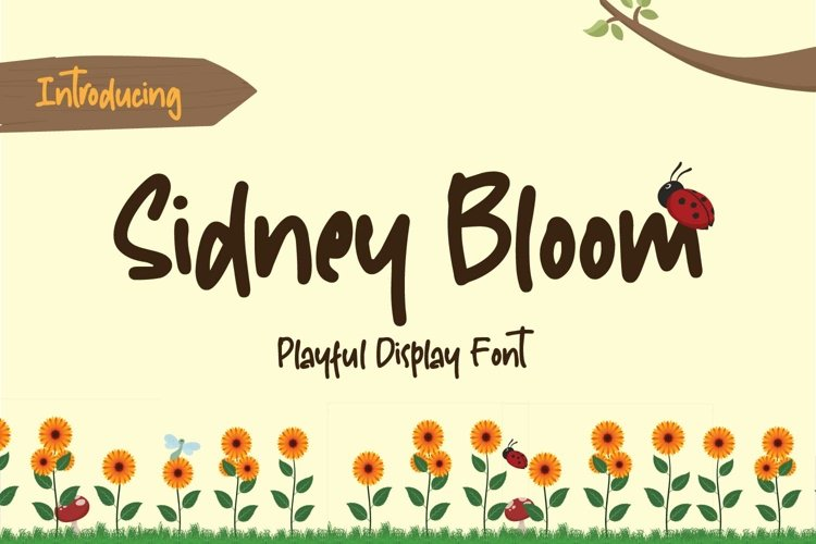 Sidney Bloom example image 1