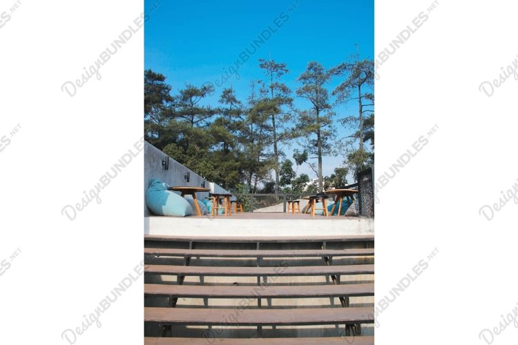 Stock Photo - Stairs of Restaurant example image 1