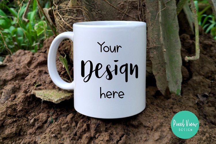 Mug Mockup in a Mud example image 1