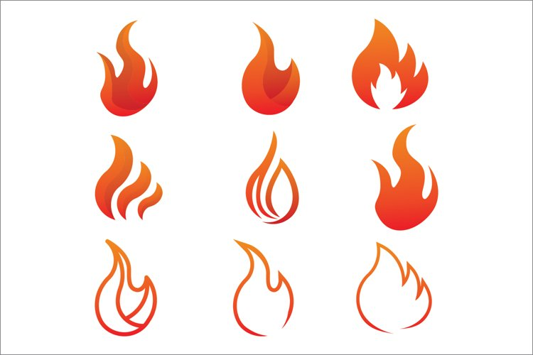 Fire Logo Collection example image 1