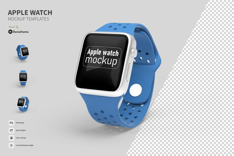 Apple Watch Mockup FH example image 1