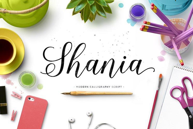 Shania Script example image 1