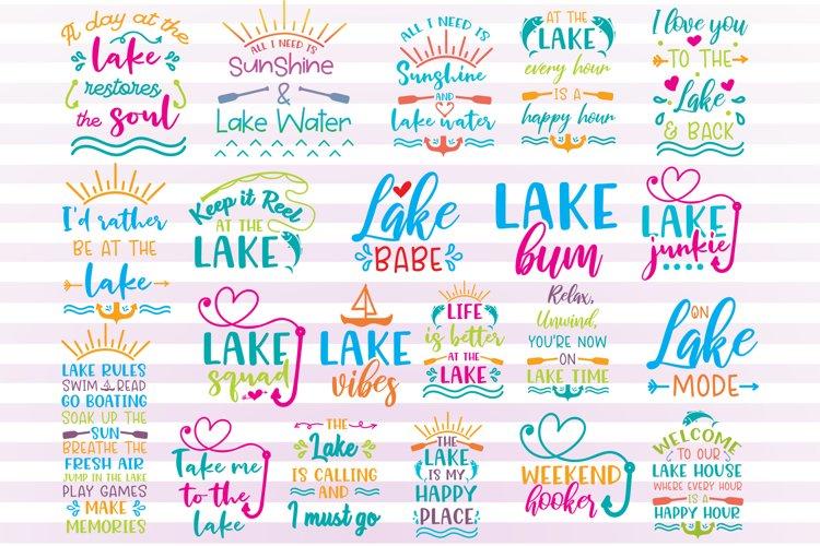 Lake svg bundle