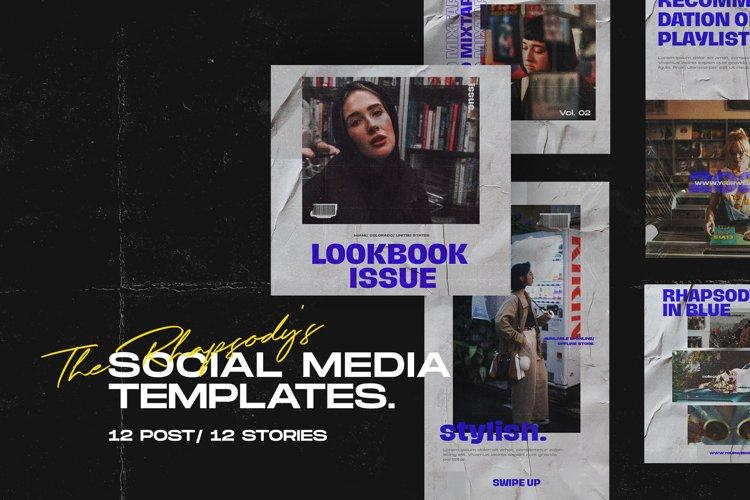 The Rhapsodys Social Media Templates
