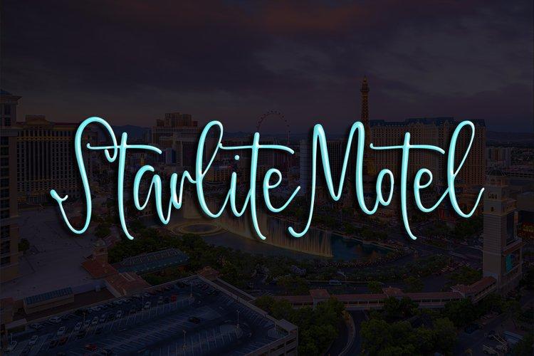 Starlite Motel example image 1