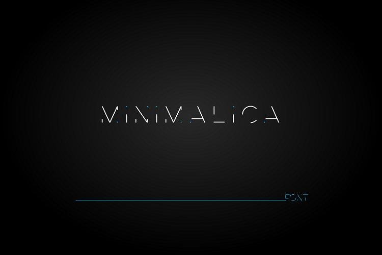Minimalica font example image 1