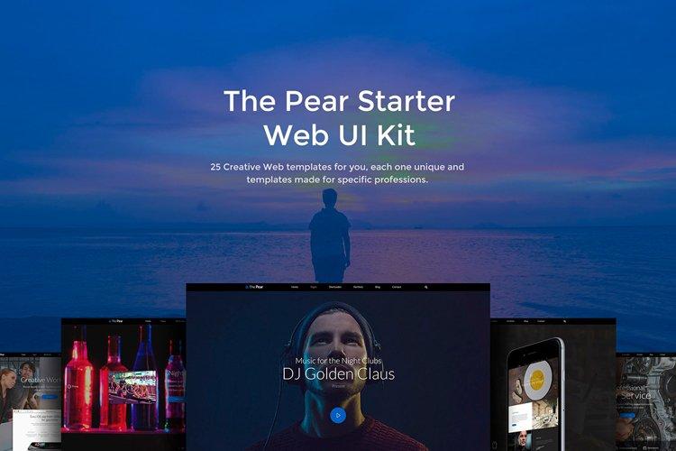 The Pear Starter Web UI Kit