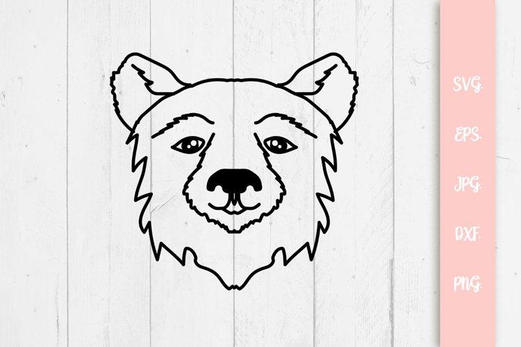 Precious Bear SVG Cut File example image 1