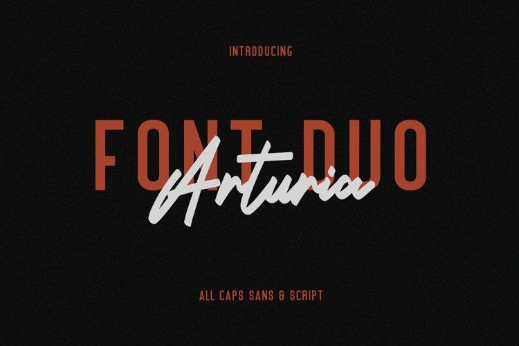 Arturia Script Sans Font Duo example image 1