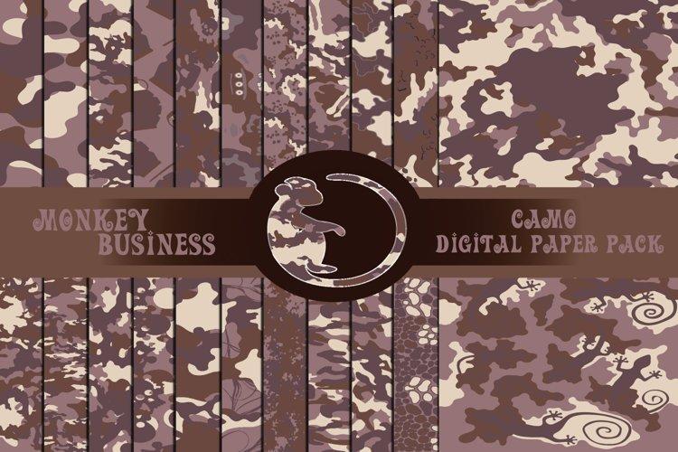 Camo digital paper pack, Military Scrapbook papers,JPG files