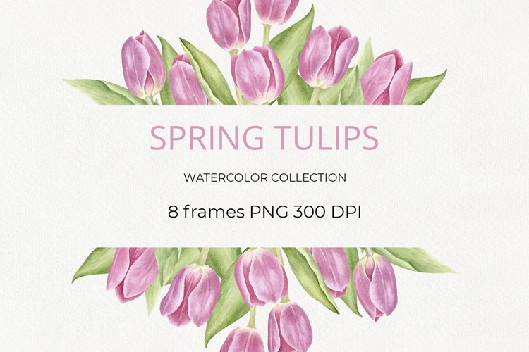 Spring tulips example image 1