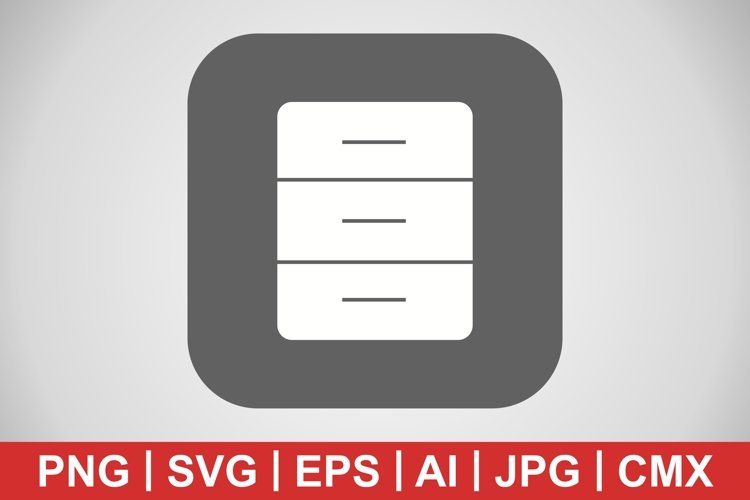 Vector Archive Icon example image 1