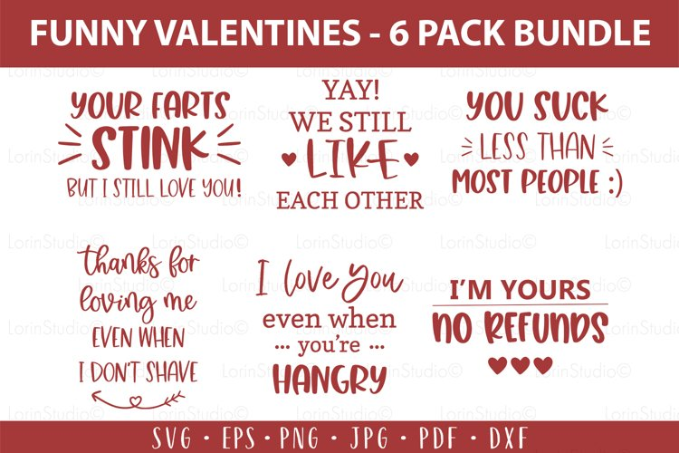 Funny valentine svg bundle Naughty valentine svg Funny V-day example image 1