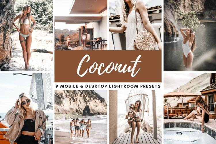 Coconut Brown Mobile & Desktop Lightroom Presets Photo