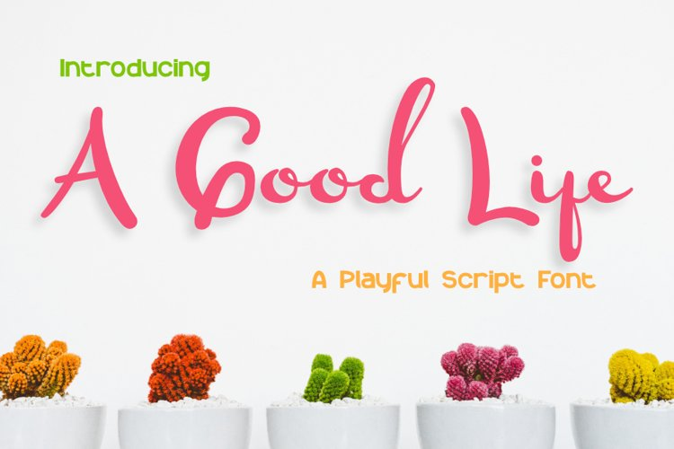 A Good Life example image 1