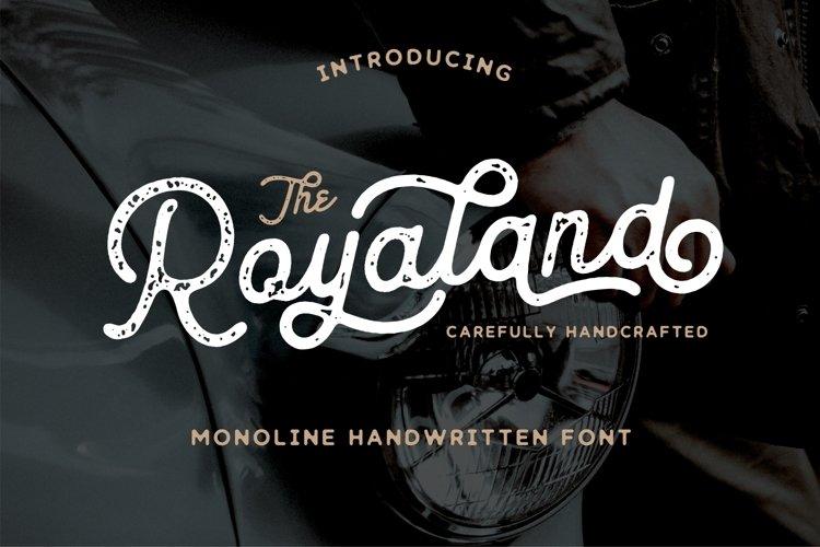 Royaland Font example image 1