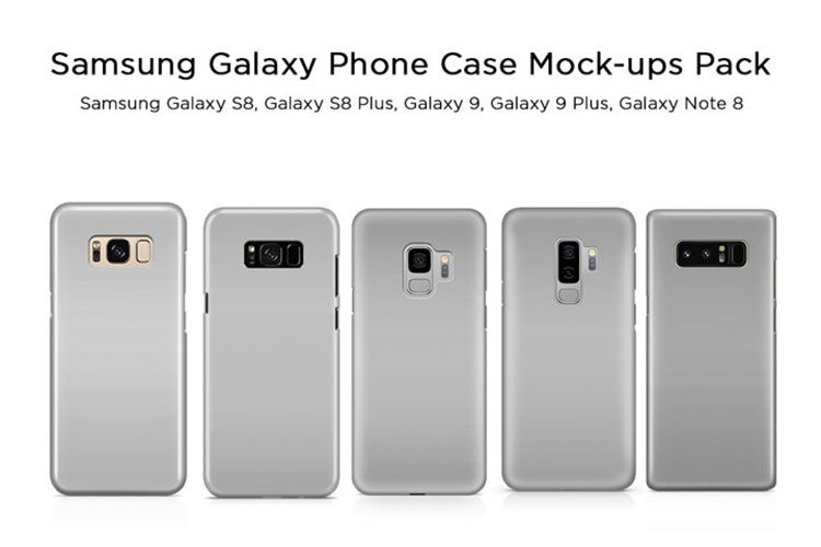 Samsung Galaxy Phone Case Mock-ups Pack example image 1