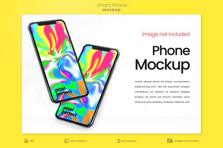 Bright Modern Apple iPhone Mockup 4