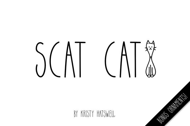 Scat Cat example image 1