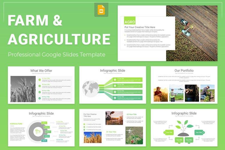 Farm & Agriculture Google Slides Presentation Template