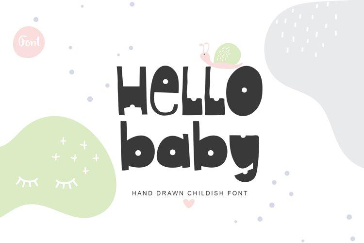 Hello Baby example image 1