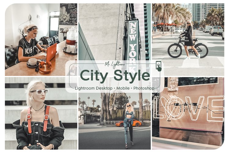 City Style Lightroom Desktop and Mobile Presets example image 1