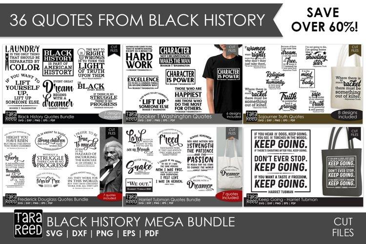 Black History MEGA BUNDLE - SVG & Cut Files for Crafters